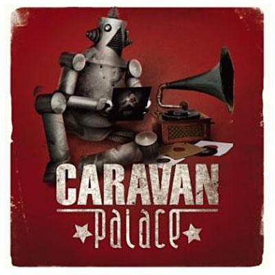 Caravan Palace miniature