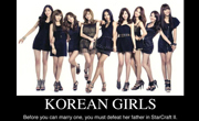 korean girls